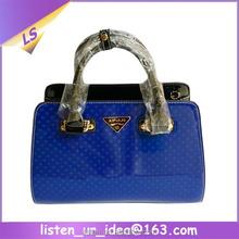 Fashion High Quality Women Handbag Luxury OL Patent Leather Tote Shoulder Bag