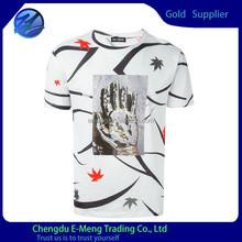 New design hand pattern printing shirts boys 2015