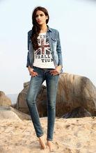 moda único pantalones vaqueros fabricantes en delhi para las mujeres