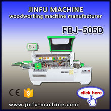 Best price FBJ-505D Semi automatic pvc edge banding for plywood woodworking machine
