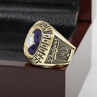 Aliexpress SJ Fashion Design SJMC026 MLB 1988 LOS ANGELES DODGERS WORLD SERIES Championship Replica Ring with Wooden Box