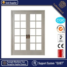 New Design Made in China Low-e Tempered Glass Timber Furniture Door