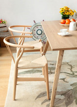 Y chair wishbone chair /hot sale wood Grained Wegner Wishbone Y Chair
