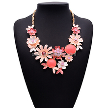 New design and factory directly sale fashion fine necklaces jewelry for girls