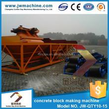 8080*2120*3000 mm concrete hollow block machine price made in hunan