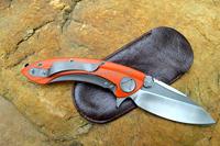 МИКРОТЕХ whalesharp нож с роликовых подшипников шайбой, сделанные кабан d2 лезвие g10 ручки