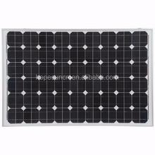 PV solar panel 130w mono photovoltaic solar panel