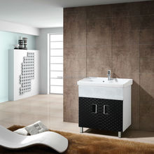 china popular stainless steel laundry cabinets/bathroom vanity
