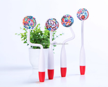 promotion colorful ball pen with band shape