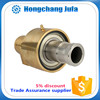 plumbing materials brass quick connect couplings/hydraulic rotary coupling