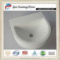 artificial stone wash basin color
