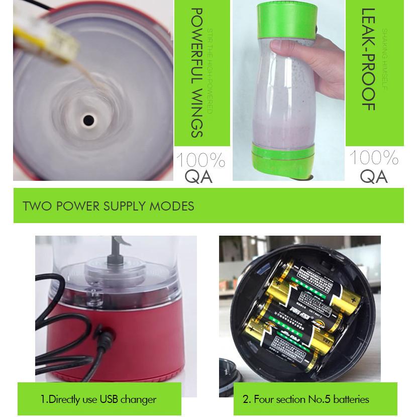 Shaker proteína 650ml criativo esportes garrafa de plástico / BPA da personalização livre garrafa de água desporto