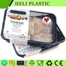 Disposable plastic fresh beef/fish/chiken/sheep storage container