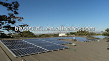 10KW a complete system with new design and CE/IUV proved solar system 10kw