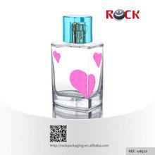 100ml heart shape perfume glass bottle