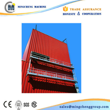 Tailored 50m height for painting zlp630 suspend platform Western Union