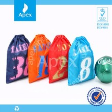 cheap price hot nylon shoes bag polyester storage bag drawstring bag