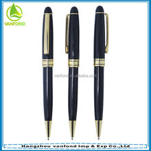 2015 hot sale promotional cutom logo metal pen for hotel ues