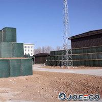 Hot sale welded gabion middle east hesco sand barrier