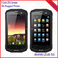 "5"" Orginal MANN ZUG 5S Android OS 4.4 Qualcomm 1.2GHz Quad Core 1GB RAM 8GB ROM Rugged Waterproof Smart Phone"