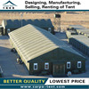 6x9m dark green military tent with water-proof pvc roof use for army, military tent for sale