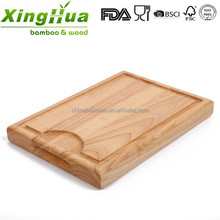 strong large wooden chopping board, butcher chopping board