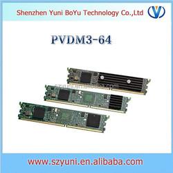 Cisco modem Voice DSP module PVDM3-64