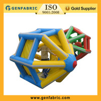 water wheel inflatable,inflatable aquatic water wheel on sale