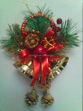 Pine Cones Straw Wreath for Outdoor Decoration/Christmas Wreath/Aritificial Decoration Bow