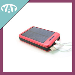 wholesale factory price solar power bank with LED light