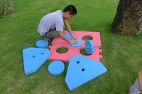 2015 factory direct sale EVA shooting target for kids,funny sport target shooting game with five circles