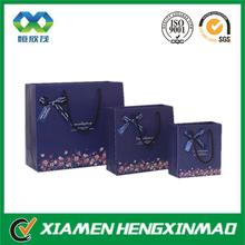 Custom paper bag with logo print clothing paper carrier bag