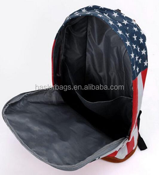 Loisirs toile sac d'école / américain sac à dos pour adolescent