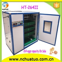 2015 automatic screw feeders chicken incubators for sale HT-264II livestock building hen