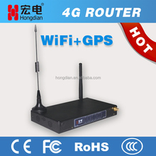M2M dual sim card and module 4G GPS router with cloud management