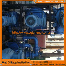 Dark oil sludge oil and mixture oil renew to hydraulic oil refinery
