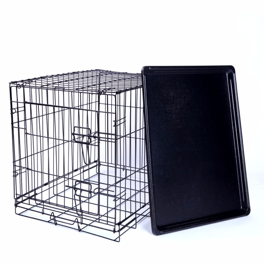 Dog cage for sale cheap pet cage dog crate wire kennel for Cheap c c cages