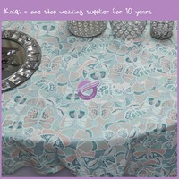 MY4631G organza 2015 Cheap factory wholsale used round banquet tables cloths for sale table cover wedding