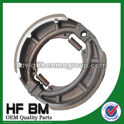 GN125 GS125 Motorcycle Parts Brake Shoe Wholesale Manufacture with OEM Quality