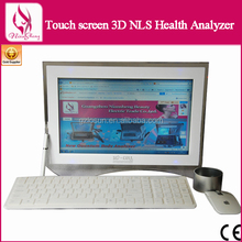 Free Upgrade Software 3D Diamond Detector 3D NLS Touch Screen Health Analyzer, Testing Laboratory