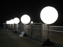 Outdoor halogen lamp balloon light,large light balloon,stand large balloon light