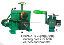 bending press for both earbob and bracelet