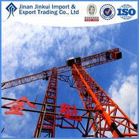 Construction Tower Crane,Hoisting and Climbing Mechanism of QTZ40(4708) by JINKUI in China