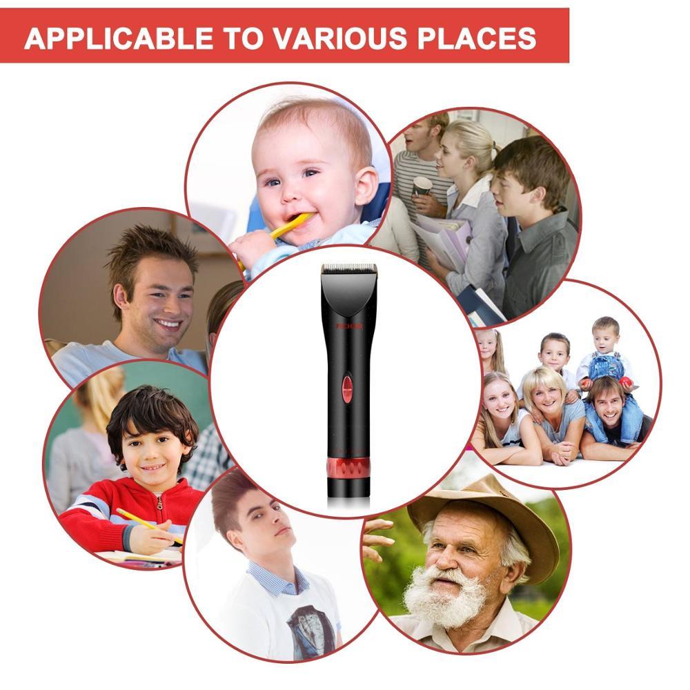 Wholesale Professional men shave set kit electric shaving razor beard trimmer barber electric hair clippers men