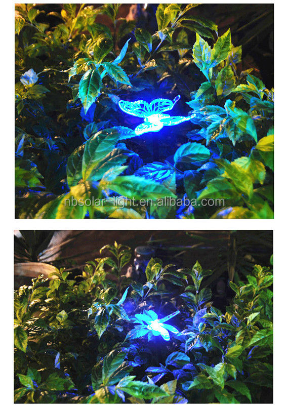 multicolore lampes de jardin solaires lampes solaires animaux hummingbird eclairage jardin id. Black Bedroom Furniture Sets. Home Design Ideas