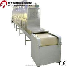 Túnel microondas arroz secadora / maíz secador / grano secador de venta 0086-15098951687