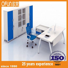 Most popular metal office table legs wooden office table