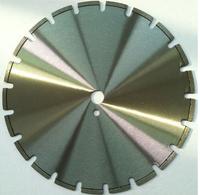 350mm Diamond Reinforced circular saw blade for asphalt cutting