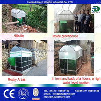 Small biogas plant portable biogas plant methane gas making