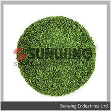 sunwing artificiale palla bosso arte topiaria faux palla di legno di bosso